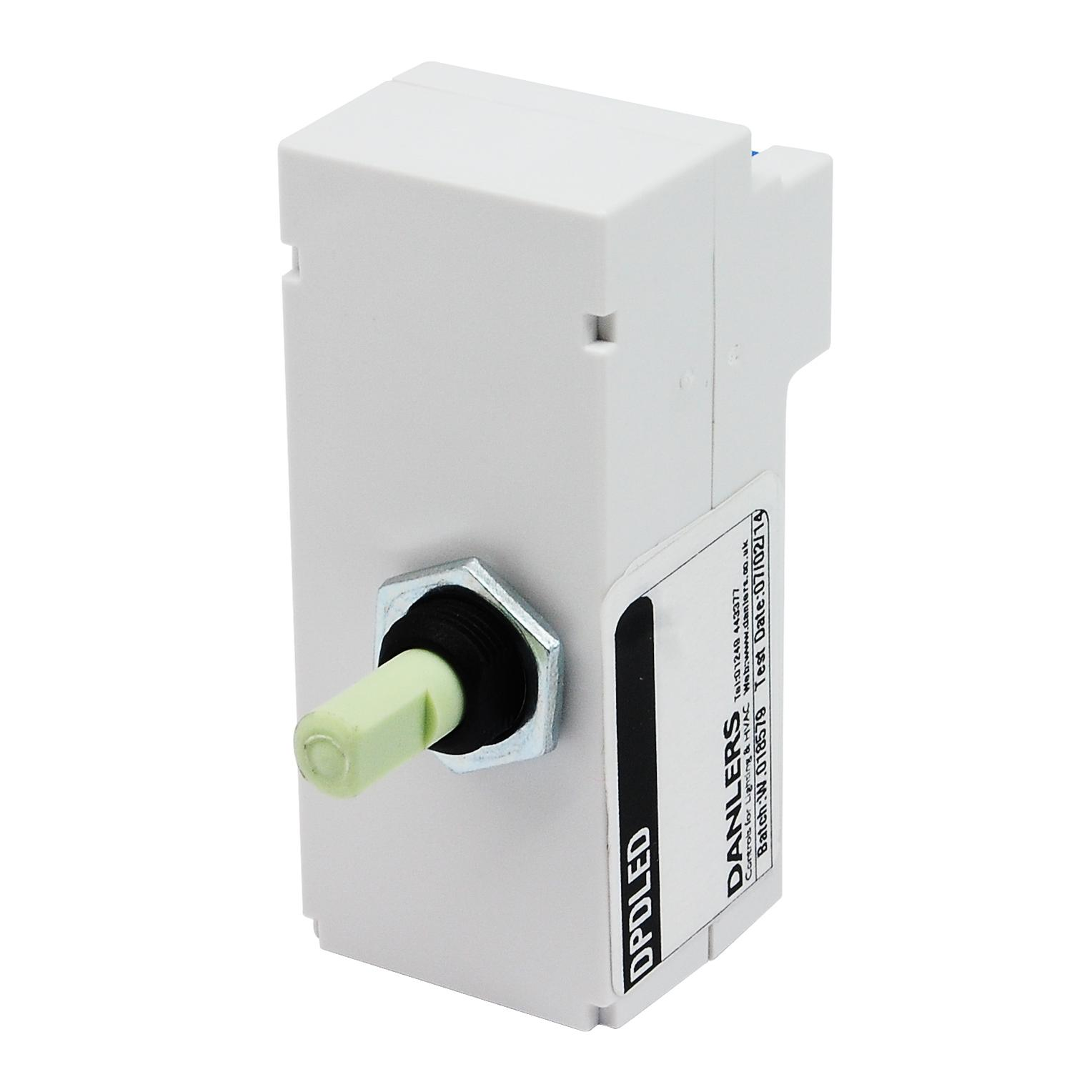 Rotary And Push LED Dimmer Module White 250W Wireless Radio - 2 Way Dimmer Switch Module