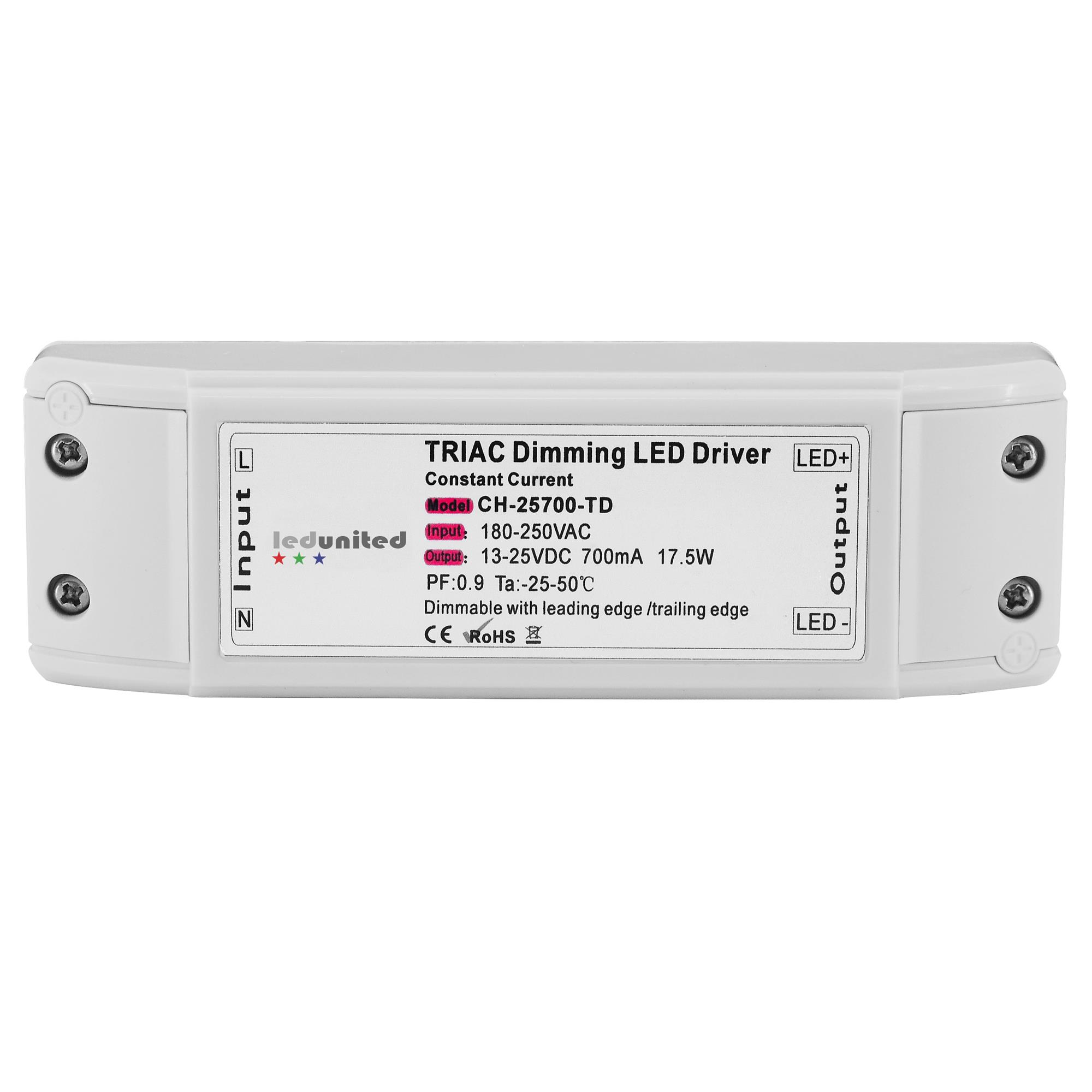 triac dimmable led driver trailing edge