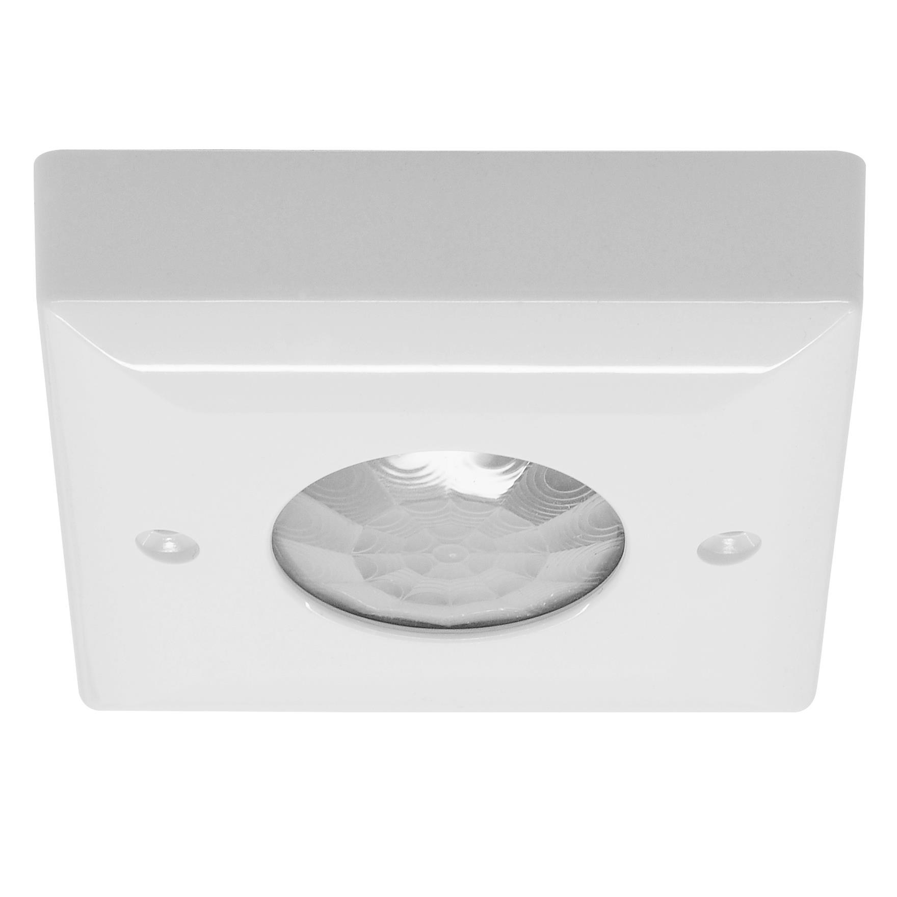 Ceiling Surface Mounted Pir Switch White Plastic