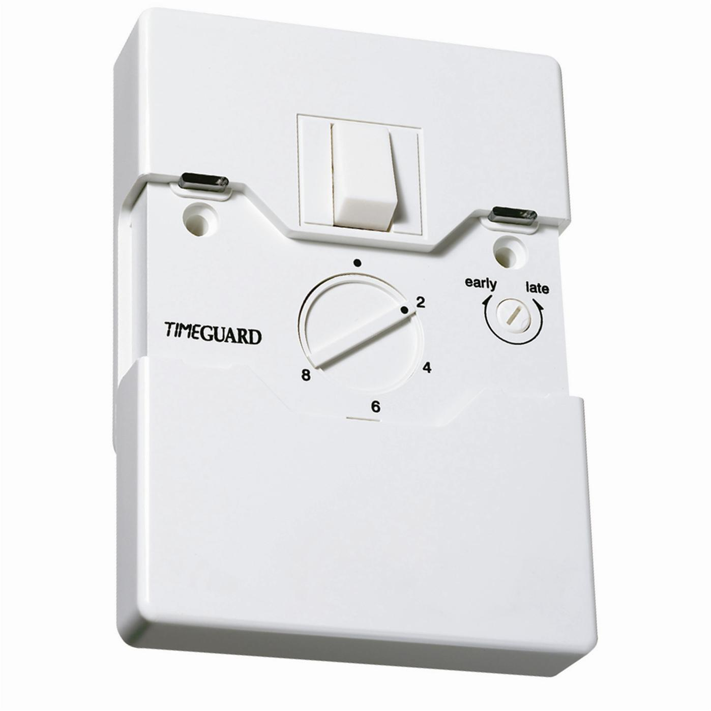 Programmable Security Light Switch 1 Gang White | Wireless Radio ...