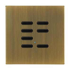 Wise Switch 7 Channel Antique Brass 3V