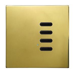Wise Switch 4 Channel Polished Brass 3V