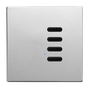 Wise Switch 4 Channel Polished Stainless Steel 3V