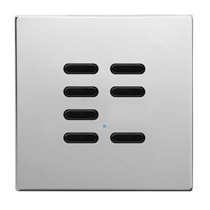 Wise Switch 7 Channel Polished Stainless Steel 3V