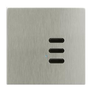 Wise Switch 3 Channel Satin Nickel 3V