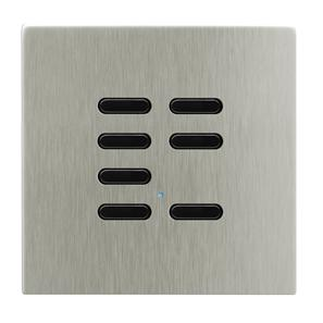 Wise Switch 7 Channel Satin Nickel 3V