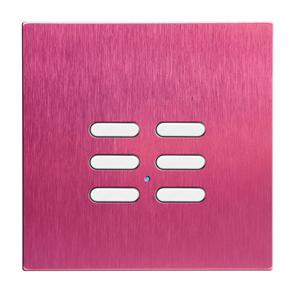 Wise Switch 6 Channel Pink Aluminium 3V