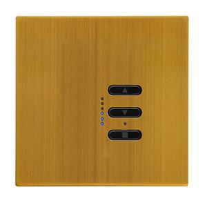 Wise Fusion Smart Dimmer Master Wired 1 Gang 240V Antique Brass 450W