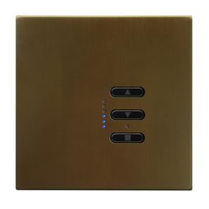 Wise Fusion 1-10V Dimmer Master Wired 1 Gang 240V Antique Bronze 450W
