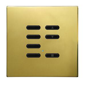 Wise Fusion Slave Wireless 7 Channel Polished Brass 3V