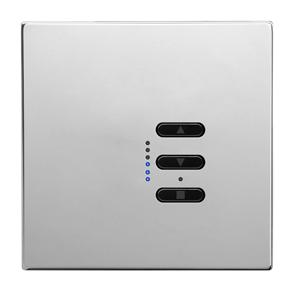 Wise Fusion 1-10V Smart Dimmer Master Wired 1 Gang 240V Polished Stainless Steel 450W