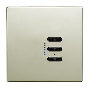 Wise Fusion Smart Dimmer Master Wired 1 Gang 240V Polished Nickel 450W