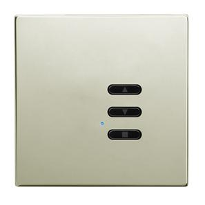 Wise Fusion Dimmer Slave Wireless 1 Gang Polished Nickel 3V