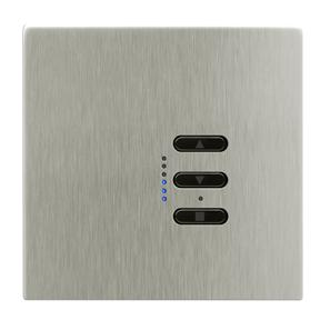Wise Fusion Smart Dimmer Master Wired 1 Gang 240V Satin Nickel 450W