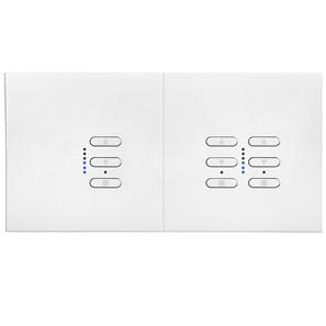 Wise Fusion Smart Dimmer Master Wired 1 x 1 Gang + 1 x 2 Gang 240V White 1 x 450W, 2 x 250W