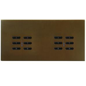 Wise Fusion Smart Dimmer Master Wired 4 Gang 240V Antique Bronze 4 x 250W