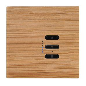 Wise Fusion Smart Dimmer Master Wired 1 Gang 240V Oak 450W