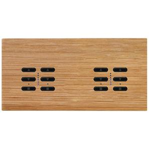 Wise Fusion Smart Dimmer Master Wired 4 Gang 240V Oak 4 x 250W