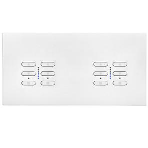 Wise Fusion Smart Dimmer Master Wired 4 Gang 240V Primed White 4 x 250W