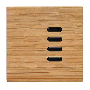 Wise Switch 4 Channel Oak 3V