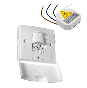 Wireless 180° Motion Sensor PIR Light Switch 240V 2 Channel