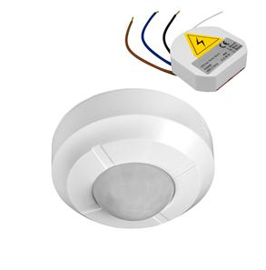 Wired 360° PIR Surface Mounted Occupancy Switch 240V 2 Channel