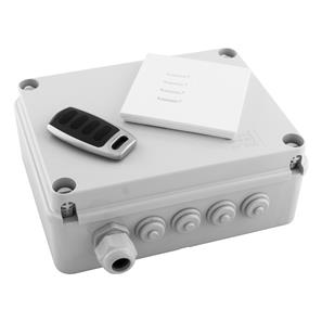 Wise Box Kit Version 3 - Wise Box Receiver, Intense Switch & Remote 4 Channel, 5 Amps / Circuit