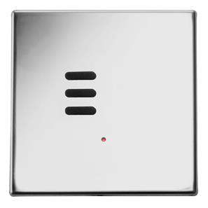 Wise Vogue Switch Polished Stainless Steel 3 Channel