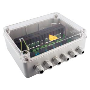 Wise Scene Box Receiver Clear Lid 240V 4x500W