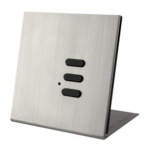 Wise Flip Intense/Fusion 3 Channel Free Standing Plate Satin Nickel