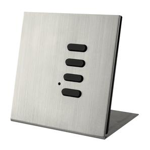 Wise Flip Intense/Fusion 4 Channel Free Standing Plate Satin Nickel