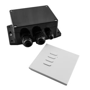 Wise Box One Kit includes Keypad 1 Channel, 16 Amps