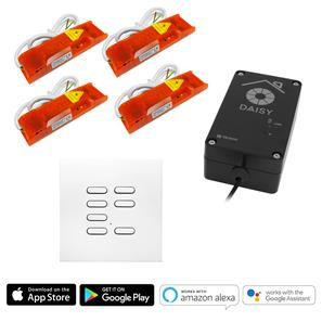 Wise Wi-Fi Pack Room Kit includes Keypad 240V 4x250W