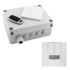Wise Box Time Clock Kit includes Keypad, Key Fob & Time Clock 4 Channel, 5 Amps / Circuit