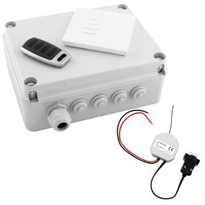 Wise Box Kit Version 3 includes Keypad, Key Fob & RS232 Interface 4 Channel, 5 Amps / Circuit