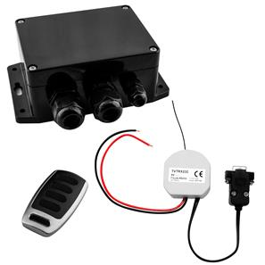 Wise Box One, Keyfob and RS232 Interface 1 Channel, 16 Amps