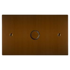 Architrave Switch 1 gang dolly Antique Bronze