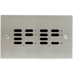 Wise ID Switch Satin Stainless Steel 7 + 7 Channel