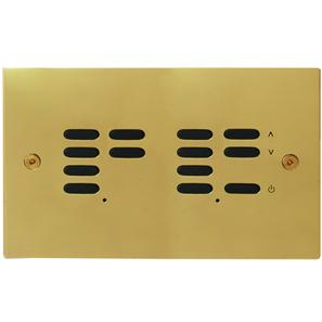 Wise ID Switch Polished Brass 7 + 6 Channel