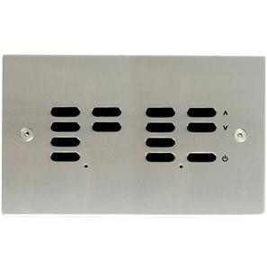 Wise ID Switch Satin Stainless Steel 7 + 6 Channel