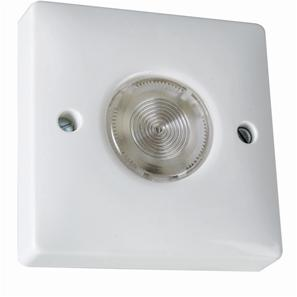 Programmable security light switch 1 gang white wireless radio electronic time delay switch 2 wire white aloadofball Gallery