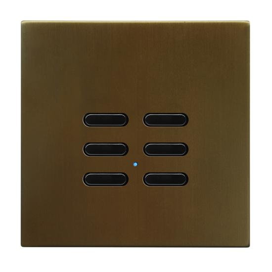Wise Switch 6 Channel Antique Bronze 3V