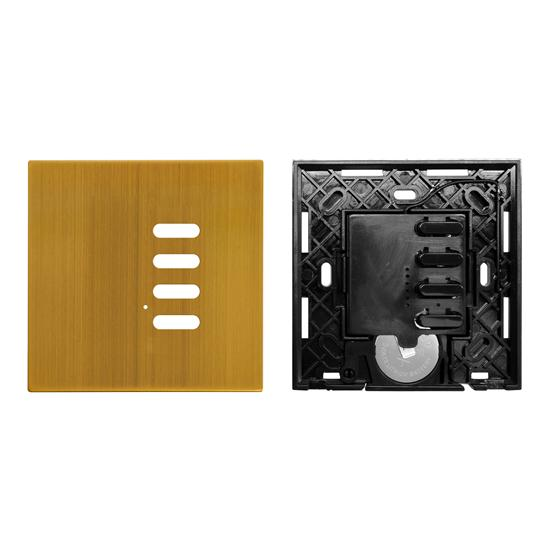 Wise Switch 4 Channel Antique Brass 3V