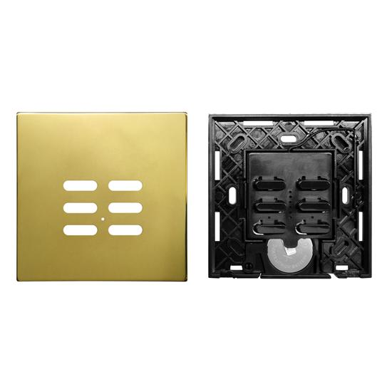 Wise Switch 6 Channel Polished Brass 3V