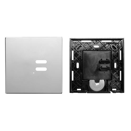 Wise Switch 2 Channel Polished Stainless Steel 3V
