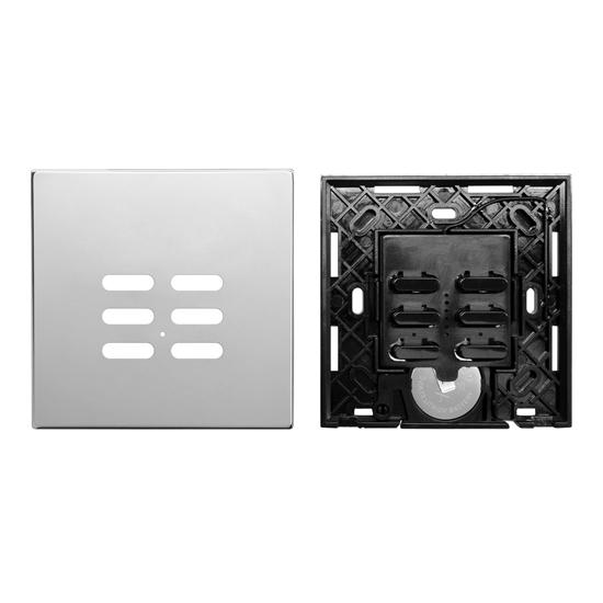 Wise Switch 6 Channel Polished Stainless Steel 3V