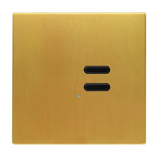 Wise Switch 2 Channel Satin Brass 3V