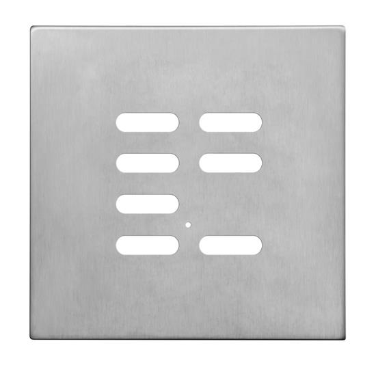 Wise Intense Satin Stainless Plate