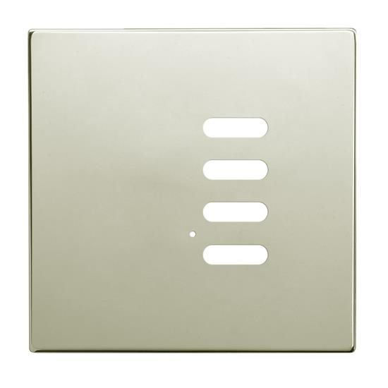 Wise Intense Polished Nickel Plate