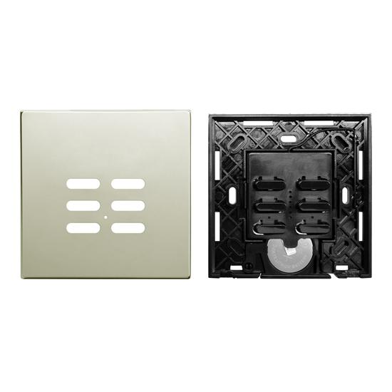 Wise Switch 6 Channel Polished Nickel 3V